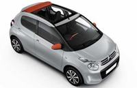 Citroen C1 AUTOMATIC and Cabrio