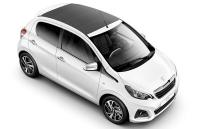 Peugeot 108 cabriolet-open top