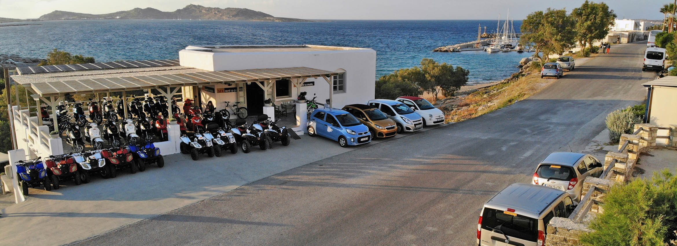 car rental Naoussa Paros main office